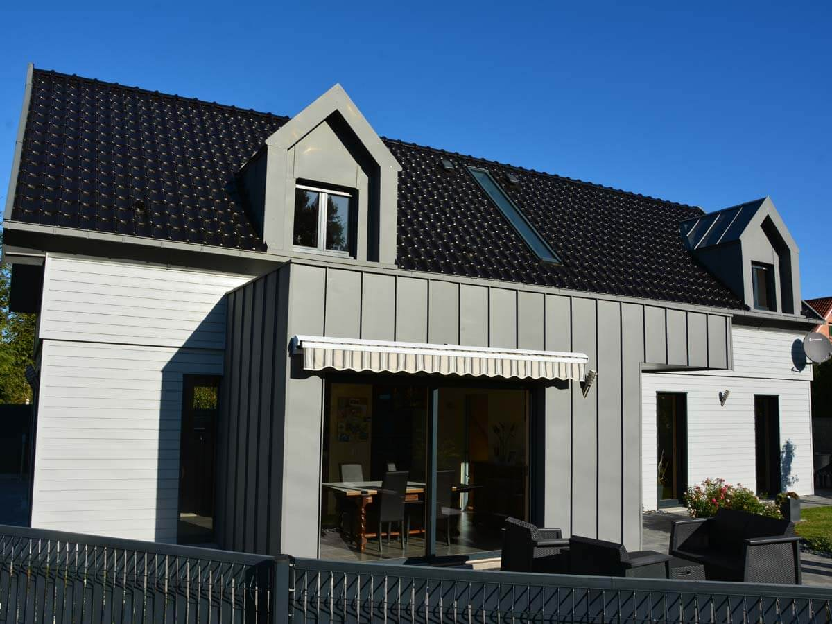 Construction d'une maison ossature bois à Rebreuve-Ranchicourt (62)