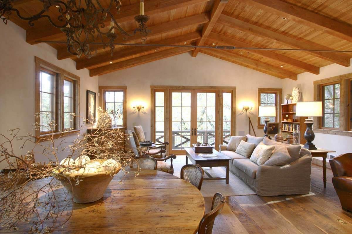 Une maison bois confortable et relaxante