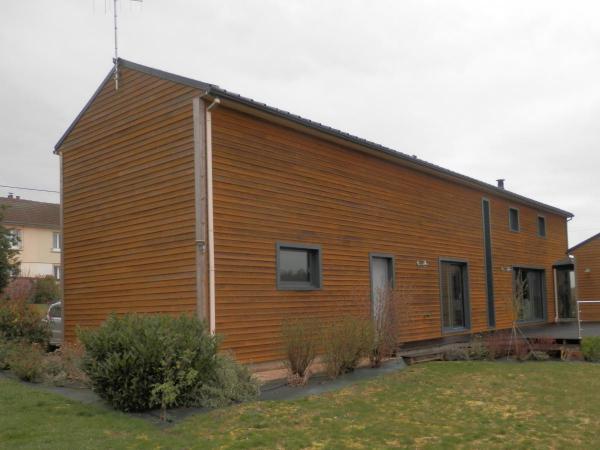 Construction d'une maison ossature bois à Oulchy-le-Château (02)