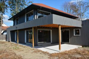 Construction de maison ossature bois à Le Touquet (62)