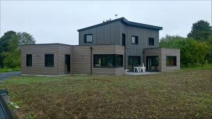 Construction d'une maison ossature bois à Gouy-en-Artois (62)