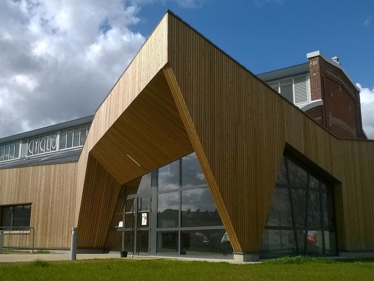 Extension bois salle de sports BREUVART 5 à Armentières (59)