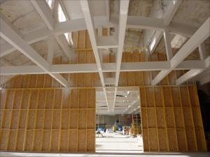 Extension de la salle de sports BREUVART 5 à Armentières (59) vue intérieure