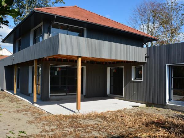 Construction de maison ossature bois à Cucq Stella-Plage (62)