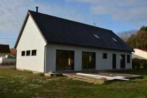 Construction d'une maison bois à Vitz-sur-Authie (80)