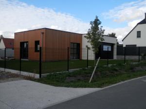 Construction d'une maison ossature bois à Bertangles