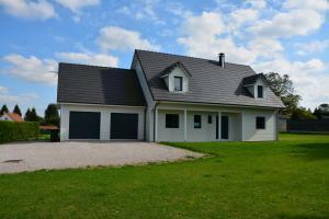 Maison ossature bois à Campigneulles-les-Petites (62)