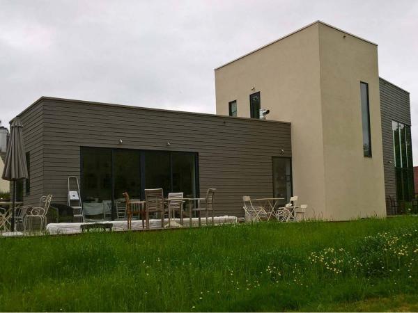 Construction d'une maison bois à Gouy-Saint-André (62)