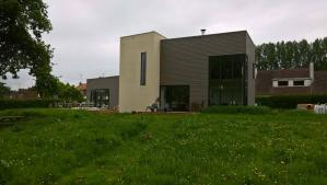 Construction d'une maison bois à Gouy-Saint-André
