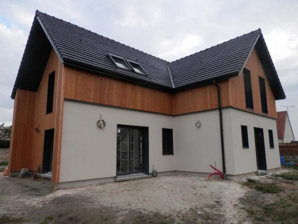 Construction d'une maison ossature bois à Bazicourt (60700)