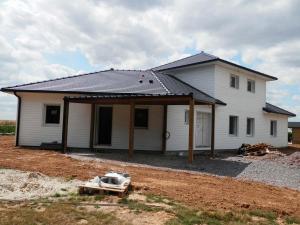 Construction maison ossature bois à Duisans (62)
