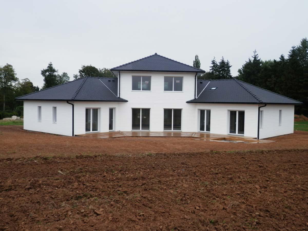 Maison ossature bois finie par Coquart dans le 62 à Duisans