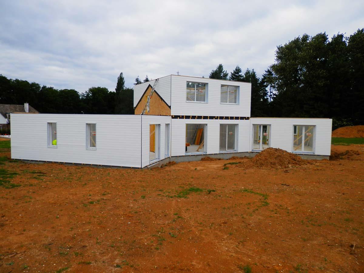 Maison ossature bois par Coquart dans le 62 à Duisans