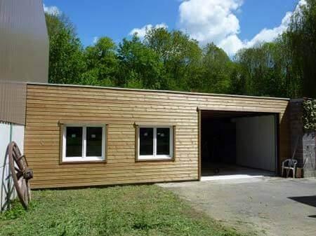 Extension latérale ossature bois