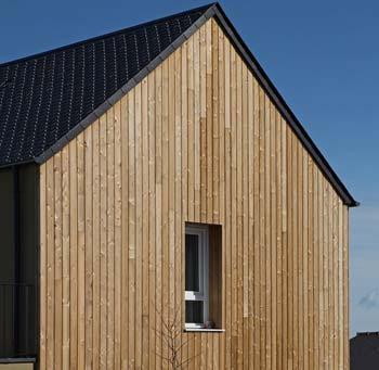 L'isolation thermique plus grande d'une maison bois