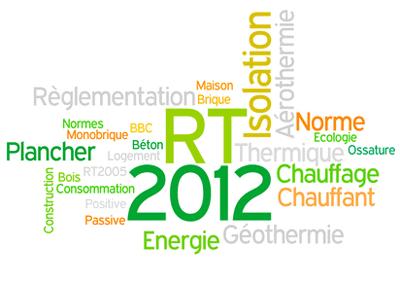 RT 2012 maison ossature bois