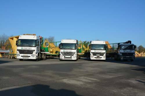 Flotte de camions pour vos livraisons par Coquart
